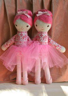 Adorable.  Hillary Lang ballerina twins, via Flickr.