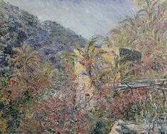 The Valle di Sasso, Bordighera, 1884, Claude Monet