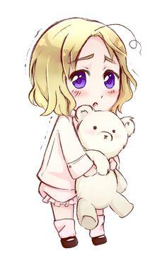 Chibi Canada by GabiPaciulo.deviantart.com on @deviantART - Why so cute???