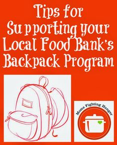 Supporting your Local Backpack Program to Fight Childhood Hunger #nokidhungry #momsfightinghunger #goorange