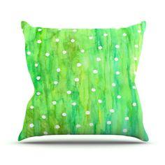 Kess InHouse Rosie Brown Sprinkles Throw Pillow, 20 by 20-Inch Kess InHouse http://www.amazon.com/dp/B00ICM58DM/ref=cm_sw_r_pi_dp_Tcm4tb0EA7X6XK49    #pillow #throwpillow #homedecor #kessinhouse #amazon #art sprinkl, throw pillows, pillow throwpillow, kessinhous