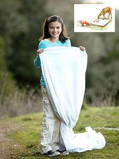Be a Spring Explorer: 5 Nature Activities for Kids: Track Trap (via FamilyFun Magazine)