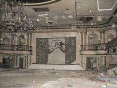 St.Louis, MO - Gold Room by Michael R. Allen, via Flickr The old Jefferson Arms hotel houses a dance hall that has been untouched for the past 85 years.