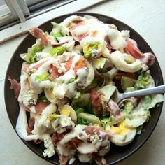 Lifestyle Changes - The Keto Way: Everything in the Fridge Salad