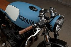 (via Anchor Division» Vintage Inspired Menswear and Fashion» YAMAHA SX750 Cafe Racer by Ugly Motor Bikes)