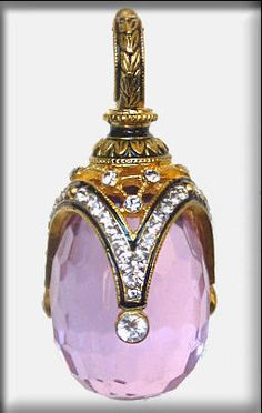Hand made of sterling silver ( 925 )    24K gold plating    Enamel    Swarovski crystals    AMETHYST    Size:  1  1/4  in