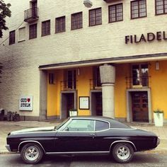 Chevrolet Chevelle, 1970. American muscle madness