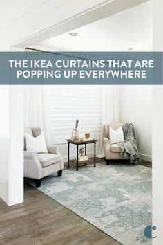 Have you noticed how popular these IKEA curtains are? And it's not just because of their affordability, either! They're a staple in the world of windows.