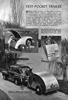 vest pocket trailer....