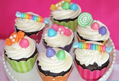 Candy Shoppe Party from Cupcake Express #parties #party #cupcakes #dessert