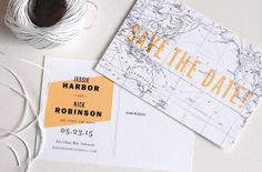 destination wedding save the date with map map save, background