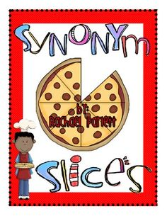Free!! Synonym slices matching fun....14 pages!