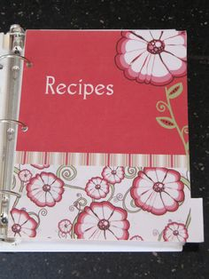 fitness plan, meal planning, gift ideas, recipe organization, recipe binders, menu planners, recipe books, family recipes, menu planning