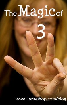 "Use the ""Magic of 3"" to help students become great writers #writing #writers #edchat"