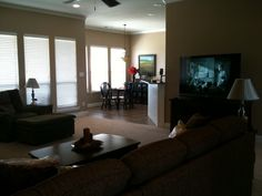 open family room   Danna's Open Plan Family Room Layout….