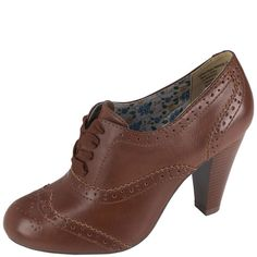Oxford heels at Payless! #fashion #style #shoes #oxford #trend #heels