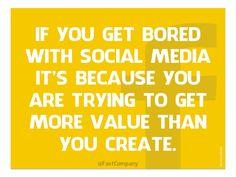 So true! #socialmedia #quotes