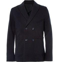 FolkWool and Cotton-Blend Suit Jacket|MR PORTER