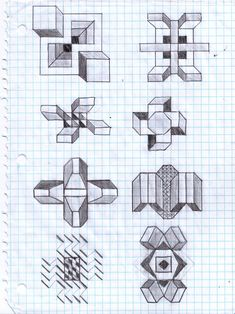 Graph Paper Art - from Originalities