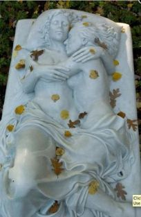 Lovers Tomb angel, find beauti, forev, cemetari, death, cemeteri, art, sculptur, thing