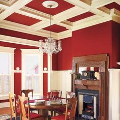 Add old-house charm to your home with DIY coffered ceilings (Photo: Stephen Karlisch)