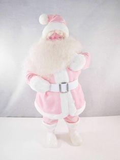 My new pink vintage Santa Claus Harold Gale