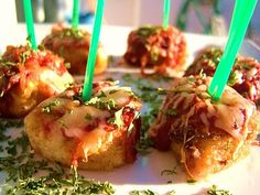 Chicken Parm Poppers