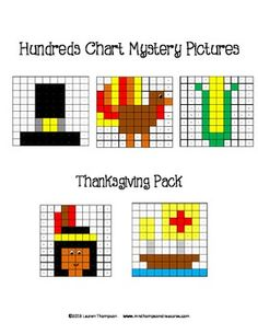 Chart Mystery Pictures: This is a set of 5 fun printable worksheets ...