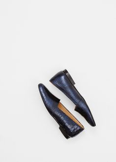 Rachel Comey Navy Curtis Loafer