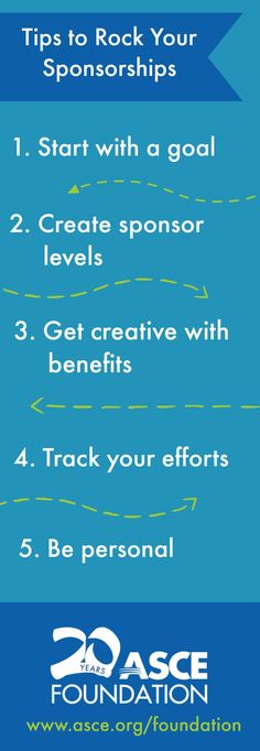 5 ways to rock your event sponsorships. #fundraising