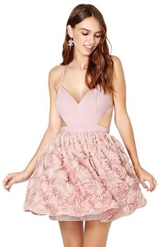 shop, blush bloom, nasti gal, style, cloth, gal blush, dresses, pink, bloom dress