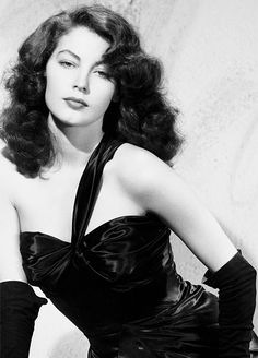 The Beautiful Brunette Ava Gardner starring in The Killers (1946) • born 1922 Dec 24 in North Carolina died 1990 Jan 25 @67 in London England, 25th among the American Film Institute's Greatest Female Stars • considered amongst most beautiful women in history of cinema