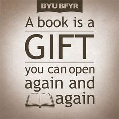 We love this quote from Garrison Keillor. What is the best book you ever received as a gift?