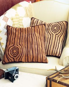 woodsy pillows