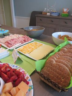 Southern Pearls: A Fan-Sea Baby Shower  Under the Sea themed party food