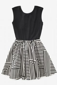 graphic design, birthday dresses, pattern, kate spade saturday dress, style, black white, new fashion, kate spade clothes, skater skirts