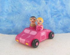 Small easy toys for a road trip.  In Stock Pinked Out Super Girl Themed 2 by MakingsFromMommyland