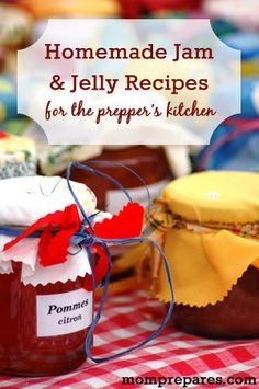 A Roundup of Homemade Jam and Jelly Recipes for the Prepper's Kitchen