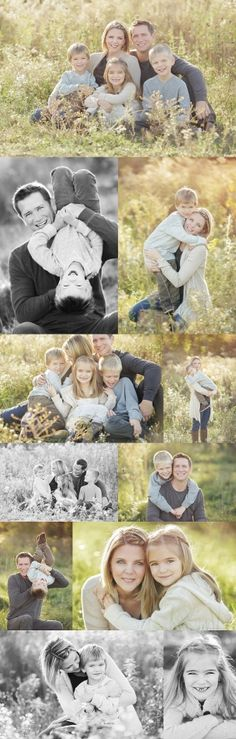 Great poses and ideas for family shoot