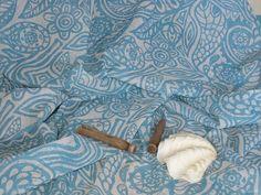 La Antigua fabric on cotton voile