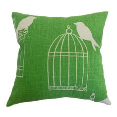 Birdcage pillow