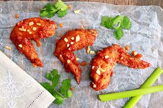 Thai Spicy Chicken Wings