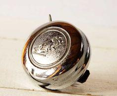 Vintage bicycle bell. Love this!