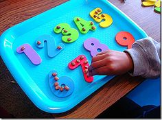 numbers and manipulatives