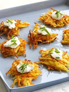 Recipes for Three Latkes Variations