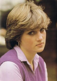 Before being the Princess of Wales...She was just...DIANA.