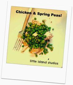 Zesty Chicken & Spring Peas!