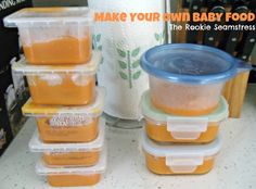 Make Your Own Baby Food!