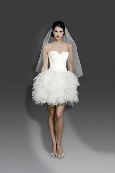 wedding dressses, bridal collection, short wedding dresses, weddings, bridal gown, 2014 bridal, reception dresses, recept dress, modern trousseau