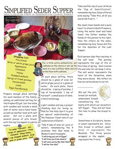 Meaningful Christ-Centered Easter Traditions and Activities Christian Seder meal download